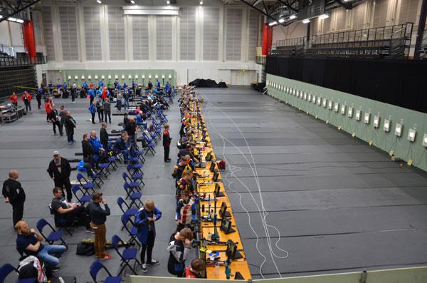 Salon Kultahippukilpailuihin osallistui 362 kilpailijaa. Kuva: Katja Niemi