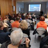Pohjois-Norjan rannikkoreitit -luento kiinnosti lammilaisia