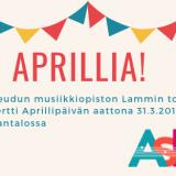 Aprillia! – musiikinopiskelijoiden konsertti