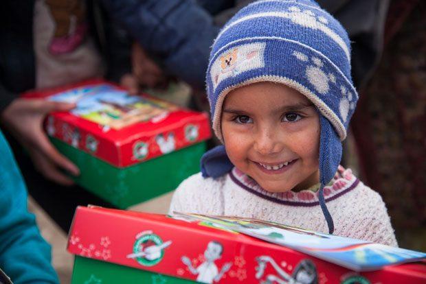 Operaatio Joulun lapsi on käynnistynyt. Kenkälaatikkoaihioita voi hakea Keitaalta ja palauttaa ne sinne 16. marraskuuta mennessä. Kuva: Lauri Laukkanen