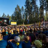 Suomen suurin partiotapahtuma juuri nyt Evolla