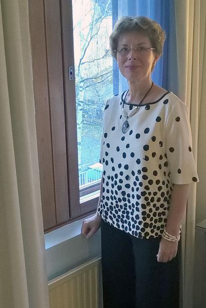 Kehitysvammalääketieteen professori Maria Arviolla on yksi kollega Euroopassa. Kuva: Pekka Arvio