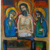 Kolmen venäläisen taiteilijan näyttely Athos-Säätiöllä