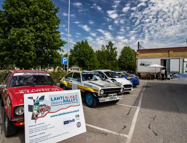 Lammi-ralli ja Lahti Historic Rally ajetaan 10.–11. elokuuta. Kuva: Matti Siivonen
