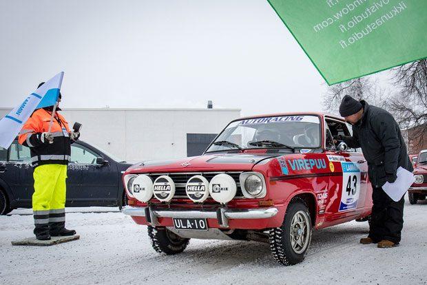 Markku Laakso, LamUA ja Markku Hoppania, LamUA, Opel Kadett B.