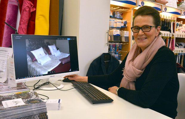 Suomalaiseen makuun voi olla myös bling bling, todistaa Tuija Peltoniemen suunnittelema sisustus. Kuva: Susanna Mattila