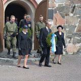 Sotiemme veteraanien kirkkopäivä vietettiin Lammilla