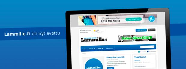 Lammille.fi on nyt totta. Kotiseutuhenkinen julkaisu palvelee verkossa kaikki itäisessä Hämeenlinnassa asuvia sekä muualle muuttaneita erilaisiin rajoihin turhia tuijottelematta.