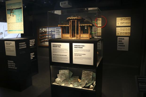 Idästä tuulee, on Hämeenlinnan museon Suomi 100 -näyttely, johon pääsee tutustumaan museopäivänä ilmaiseksi. Kuva: Hämeenlinnan museo